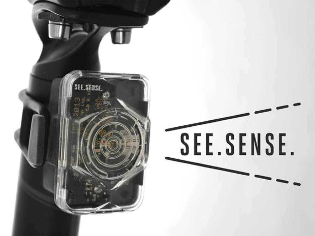 See Sense: Luces LEDs inteligentes para nuestra bicicleta