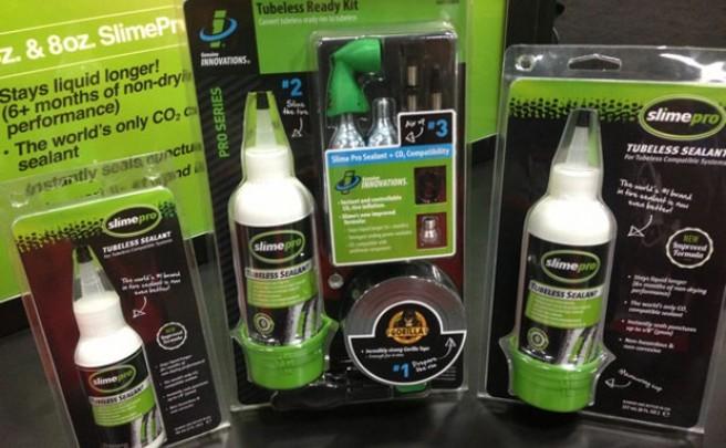 Slime 2014: Nueva fórmula compatible con CO2 para los líquidos sellantes de Slime