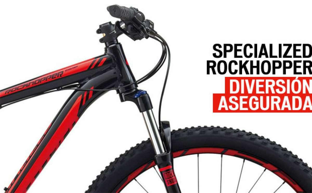 Specialized Rockhopper de 2014: Máxima diversión para iniciarnos en las ruedas grandes