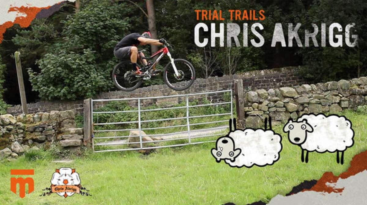 """""""Trial Trails"""", un día rodando con Chris Akrigg y su Mongoose Teocali"""