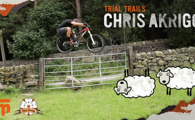 'Trial Trails', un día rodando con Chris Akrigg y su Mongoose Teocali