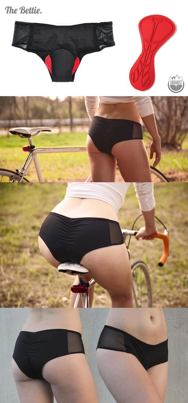 Urbanist Cycling: Ropa interior específica para mujeres ciclistas