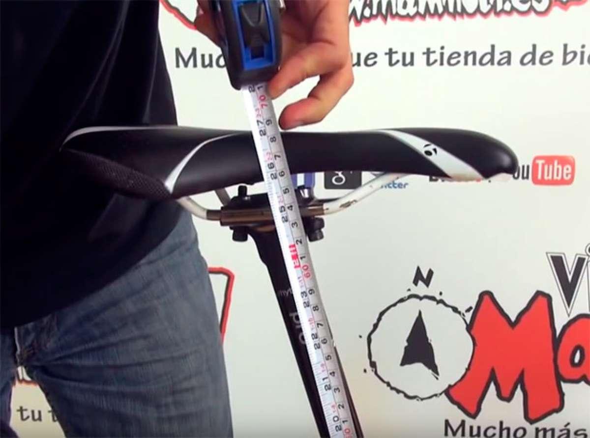 Cómo ajustar correctamente la altura del sillín de nuestra bicicleta