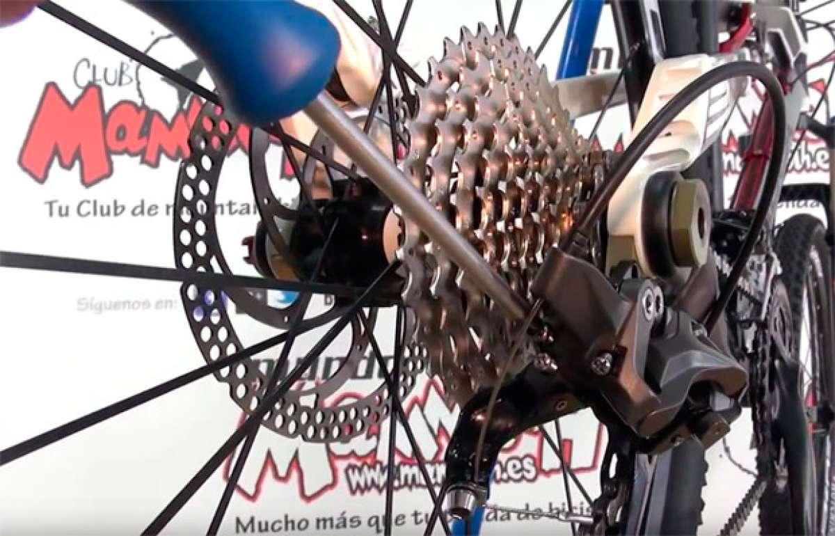 Cómo ajustar correctamente los cambios de una bicicleta de montaña