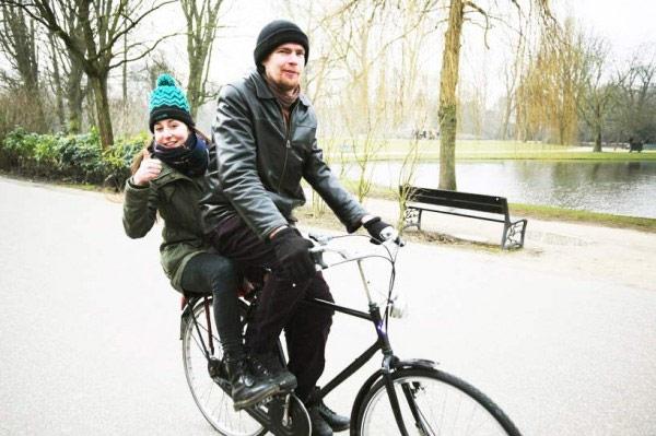 Curioso, curioso: Pedales Vigurvänt para convertir cualquier bicicleta en un tándem