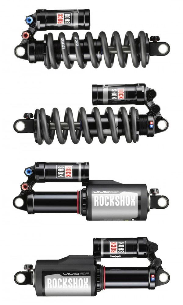 Los nuevos amortiguadores Rock Shox Vivid R2C y Vivid Air R2C de la temporada 2014