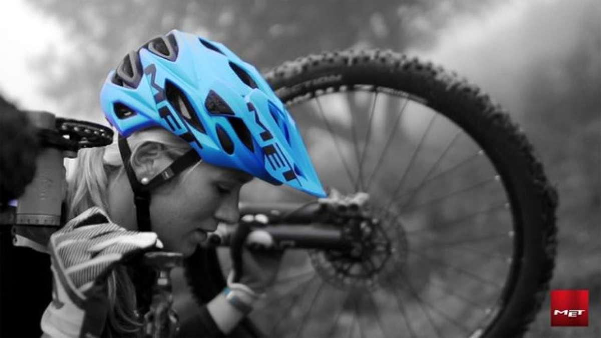 Video: Hannah Barnes y el nuevo casco MET Parabellum