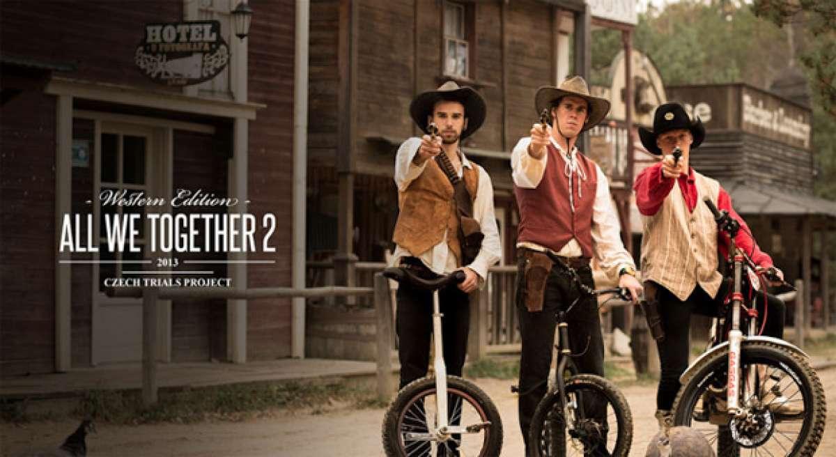 Video: All We Together 2. Tres vaqueros para tres monturas diferentes