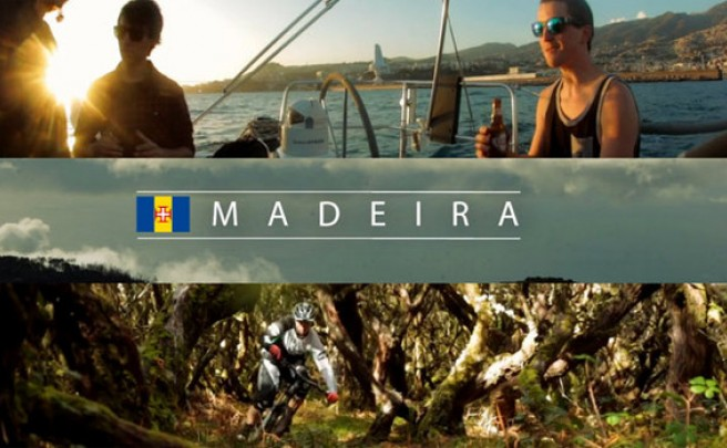 Video: Practicando Mountain Bike en la isla de Madeira (Portugal)