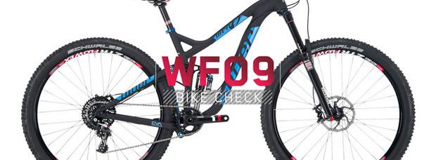La nueva Niner WFO 9 de 2014 en acción