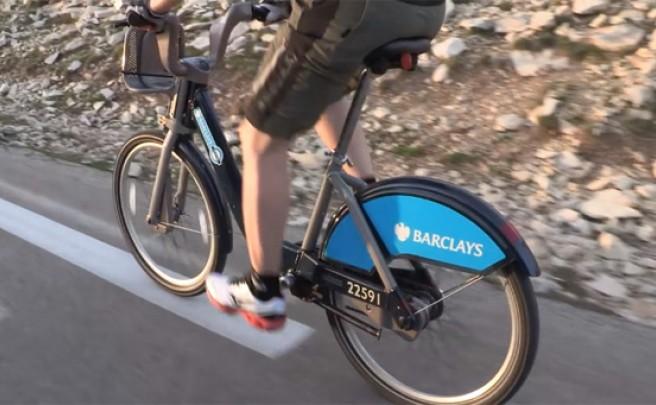 Video: Subiendo el Mont Ventoux con una bicicleta urbana... de alquiler