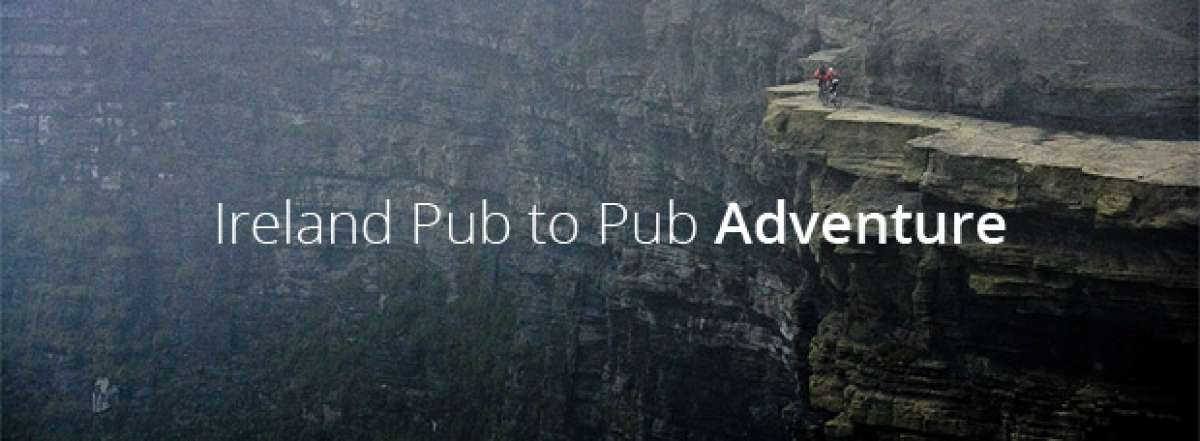 Video: Practicando Mountain Bike en los acantilados de Moher (Irlanda)