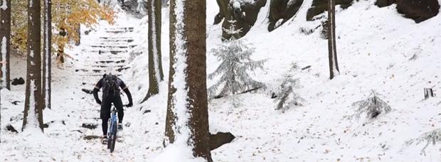 Video: Disfrutando del Mountain Bike sobre la nieve con Marco Hösel