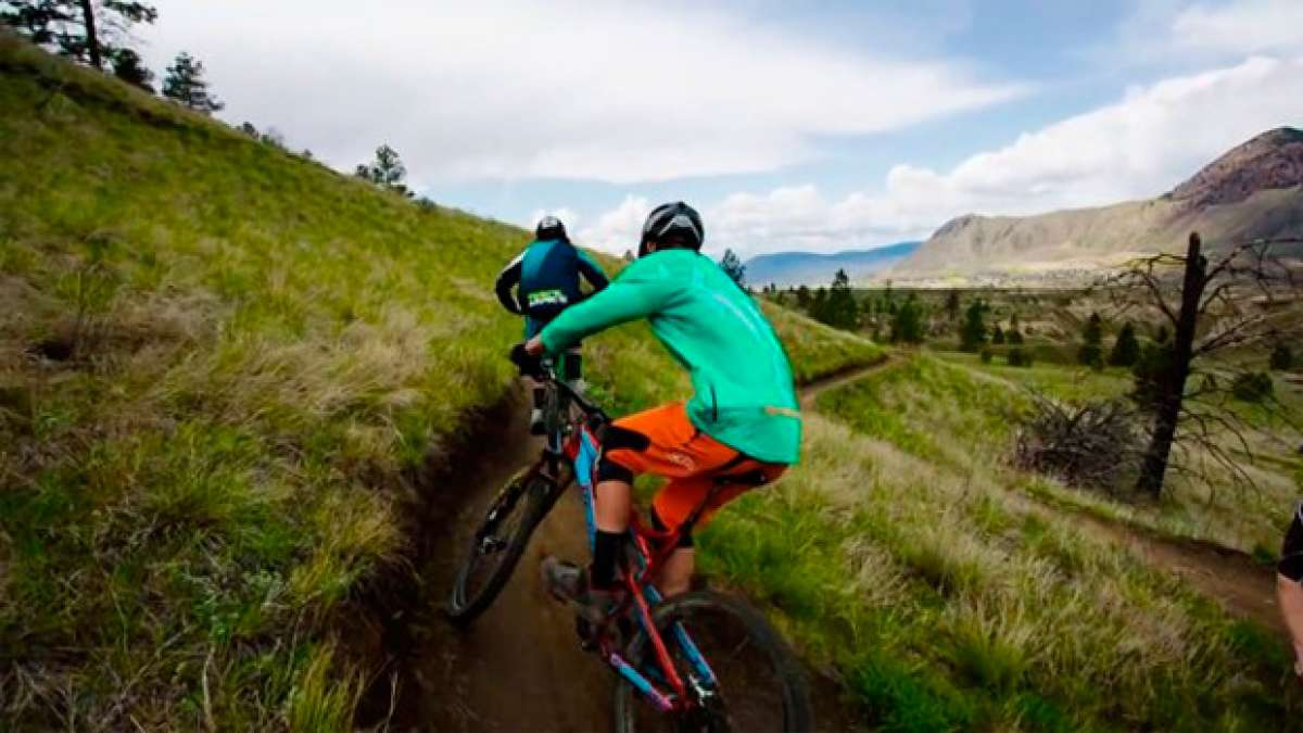 A Mountain Bike Ride: Subir. Bajar. Pedalear sin parar. Así es el Mountain Bike