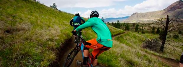 A Mountain Bike Ride: Subir. Bajar. Pedalear sin parar. Así es el Mountain Bike
