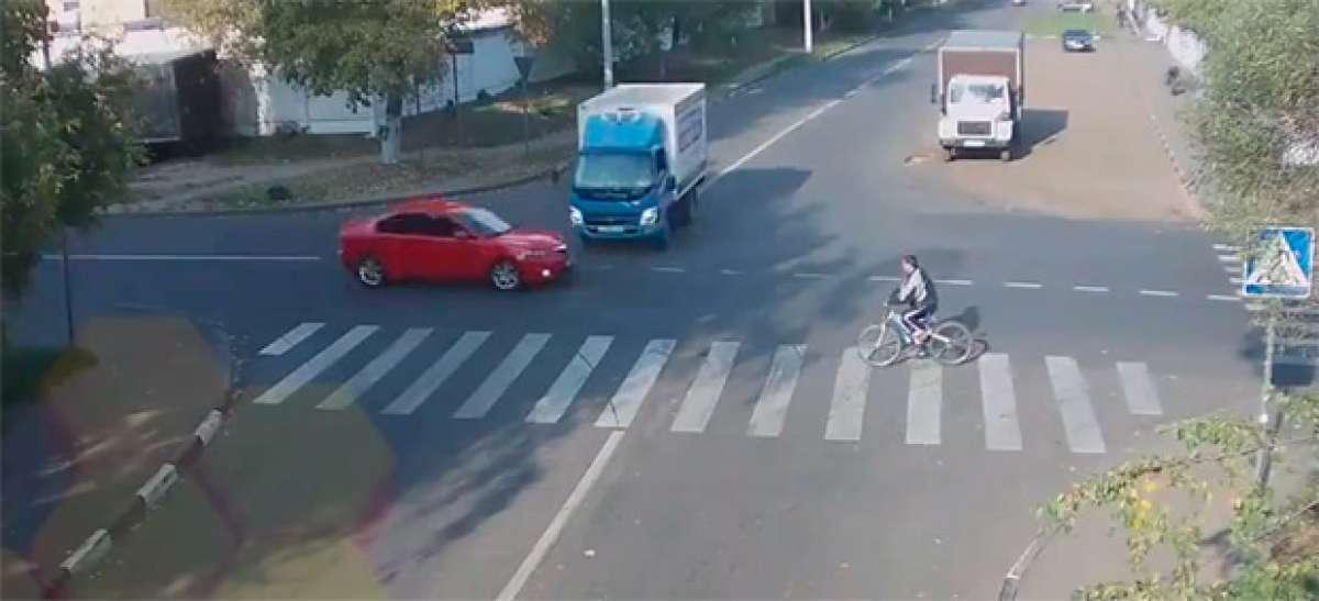 ¿El ciclista con más suerte del mundo?