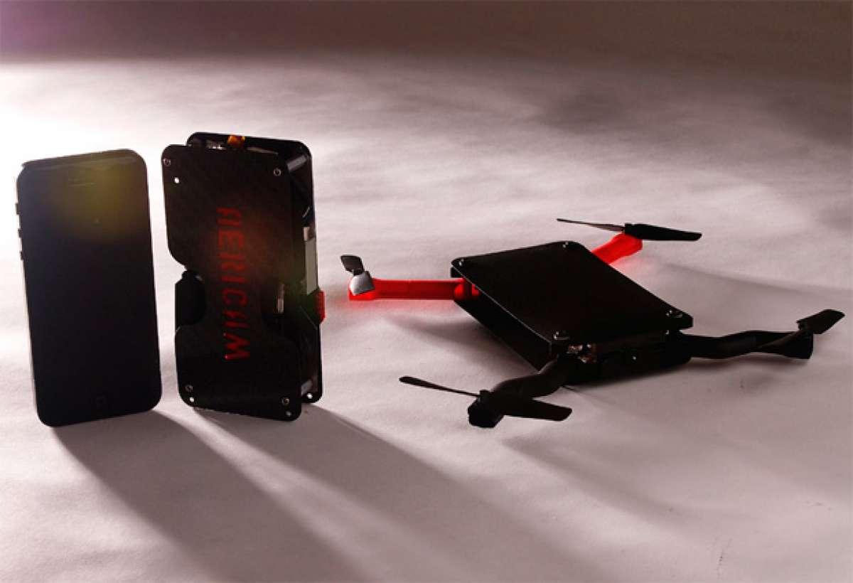 AeriCam Anura, otro 'drone' de bolsillo que busca su hueco en el mercado