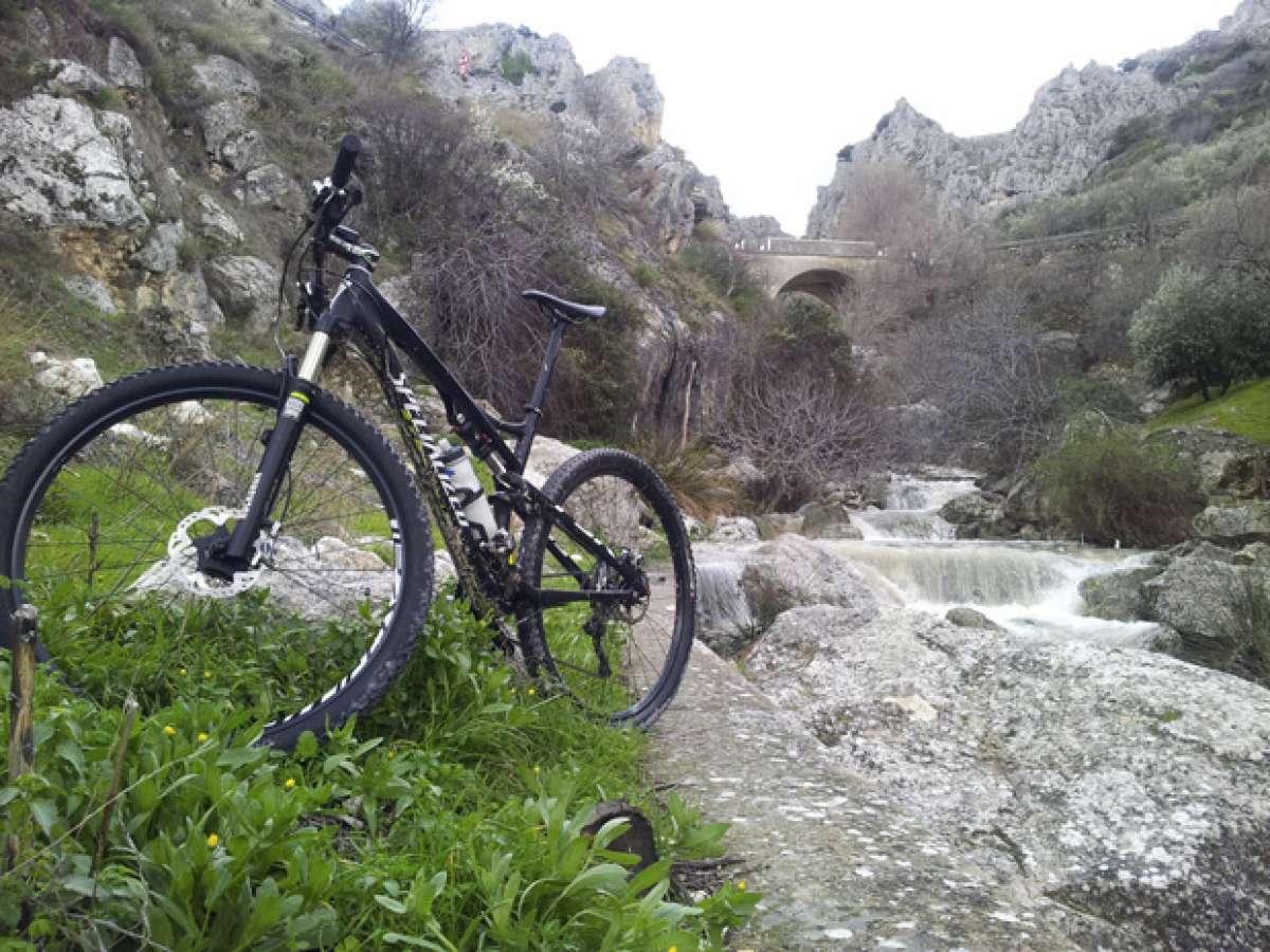 """La foto del día en TodoMountainBike: """"El río Bailón (Zuheros, Córdoba)"""""""