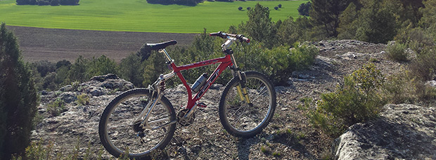 La foto del día en TodoMountainBike: 'Vista de La Dehesilla en Almodóvar del Pinar (Cuenca)'