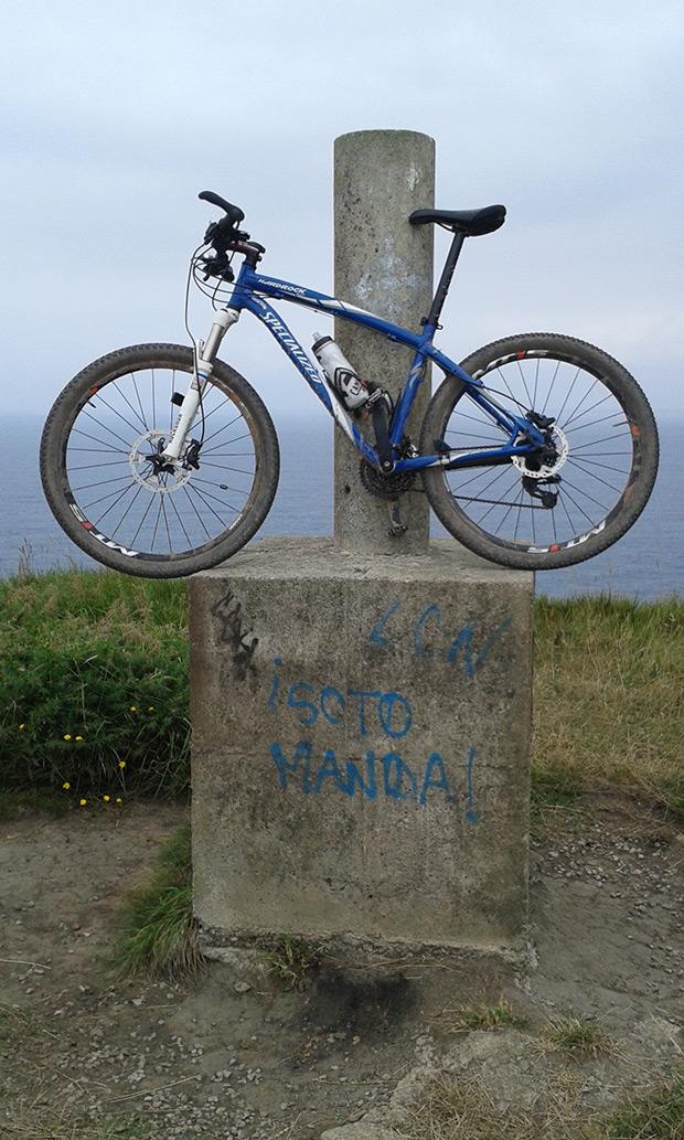 La foto del día en TodoMountainBike: 'Una auténtica escaladora'