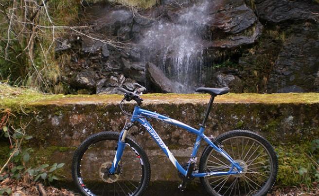 La foto del día en TodoMountainBike: 'Cascada boca norte del Túnel de la Engaña'