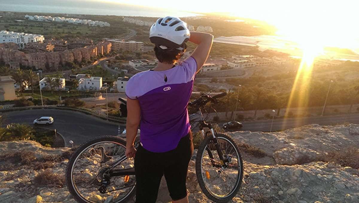 La foto del día en TodoMountainBike: 'Sunset Almerimar'