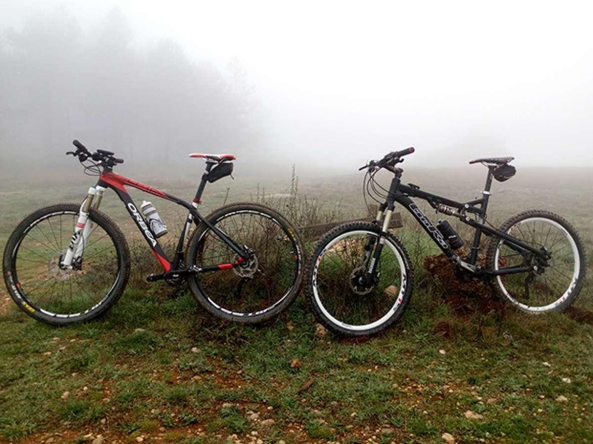 La foto del día en TodoMountainBike: 'Alto de Montejurra (Navarra)'