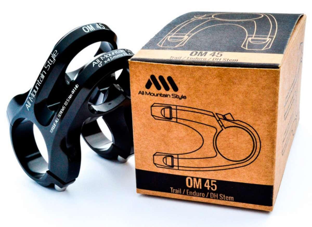 Nueva potencia AMS OM 45, la más ligera de su categoría