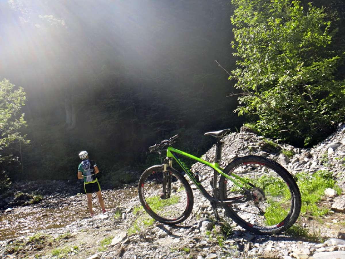 La foto del día en TodoMountainBike: 'Subida a Pomarola (Vielha, Valle de Arán)'
