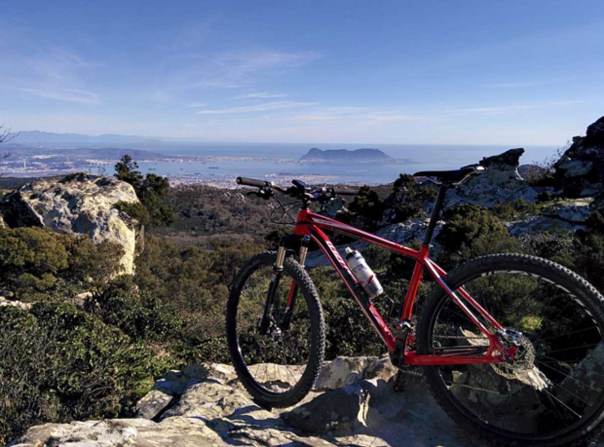 """La foto del día en TodoMountainBike: """"La Sierra de Algeciras"""""""