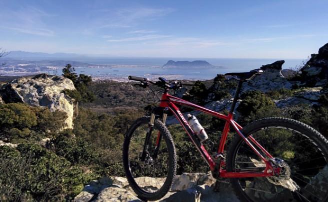 La foto del día en TodoMountainBike: 'La Sierra de Algeciras'