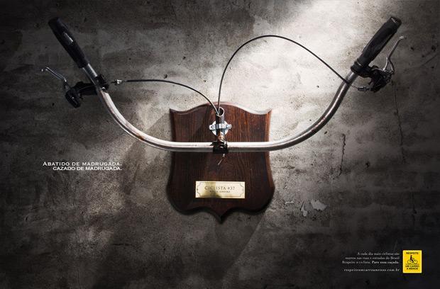 Cazados: Una sorprendente campaña de seguridad vial para conductores y ciclistas de Brasil