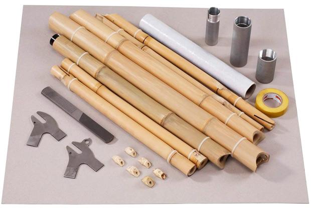 Ni carbono, ni aluminio, ni titanio... ¿Qué tal una bicicleta de bambú en formato DIY (Hágalo Usted Mismo)?