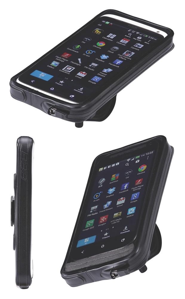 Nuevas soportes y carcasas de BBB para llevar nuestro Smartphone en la bicicleta