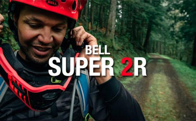 Bell Super 2R: El casco más exitoso de Bell, ahora con mentonera desmontable