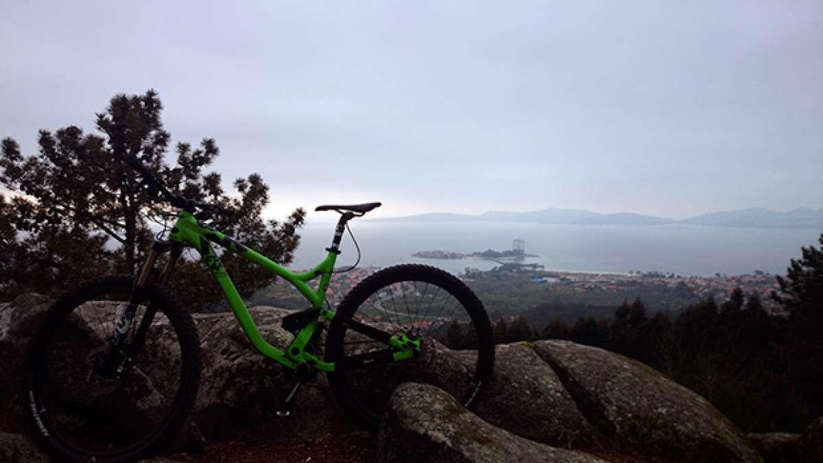 """La foto del día en TodoMountainBike: """"Ría de Vigo desde Coruxo"""""""
