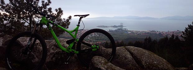 La foto del día en TodoMountainBike: 'Ría de Vigo desde Coruxo'