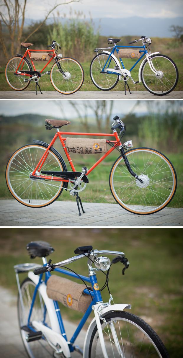 Oto Cycles: Bicicletas eléctricas con mucha, mucha personalidad