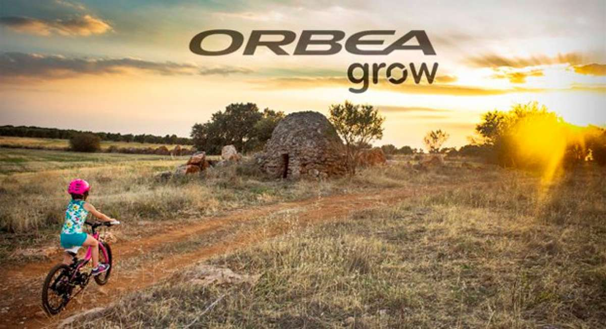 Orbea Grow, las bicicletas que crecen junto a los más pequeños de la casa
