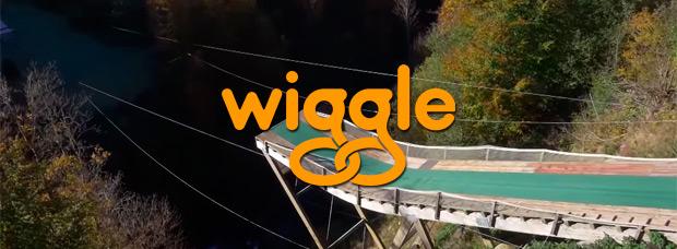 Bike Bungee, saltando desde un acantilado con las bicicletas de Wiggle