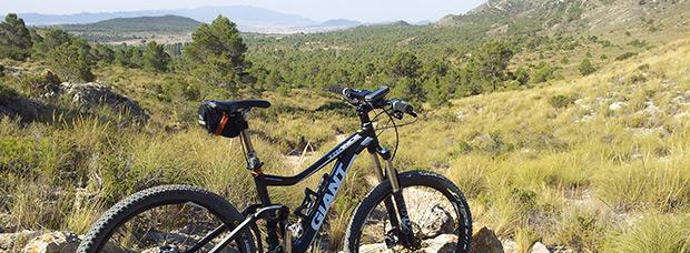 La foto del día en TodoMountainBike: 'La Toconera de Caudete (Albacete)'