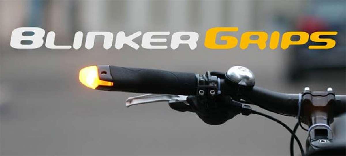 BlinkerGrips: Unos puños con LEDs integrados para mejorar nuestra seguridad