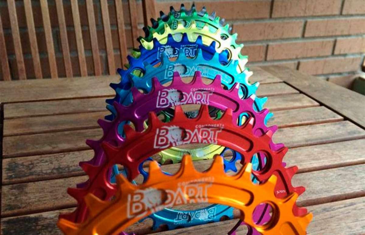 Nuevos y coloridos platos de BPart Components para transmisiones monoplato
