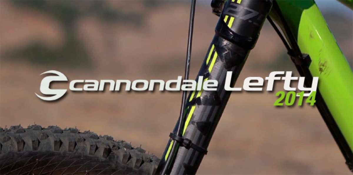 La nueva horquilla Cannondale Lefty SuperMax 27.5 en acción