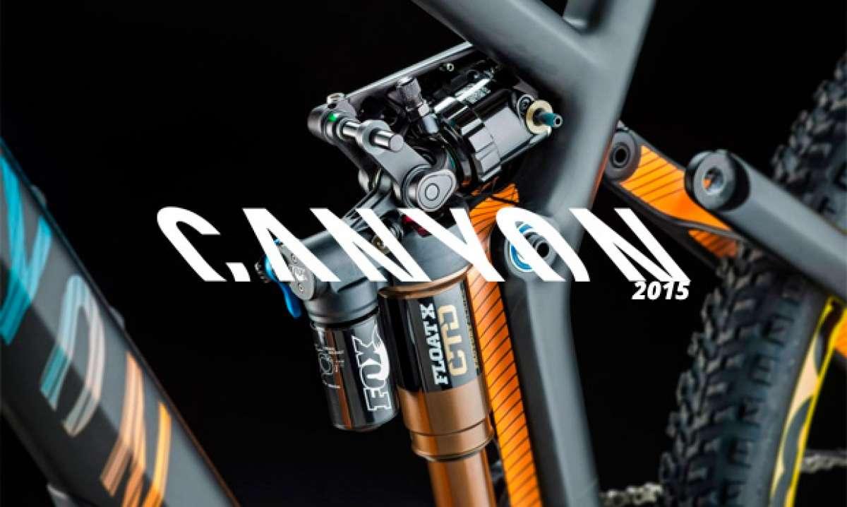 Canyon 2015: Nuevas Spectral CF y Strive AL para la temporada 2015