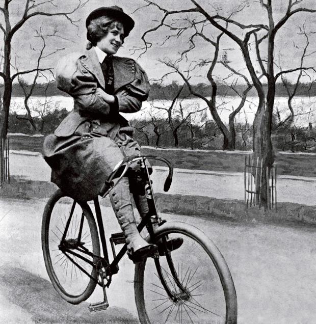 """""""Cara de bicicleta"""", la enfermedad ficticia que tuvieron que afrontar las mujeres ciclistas del siglo XIX"""