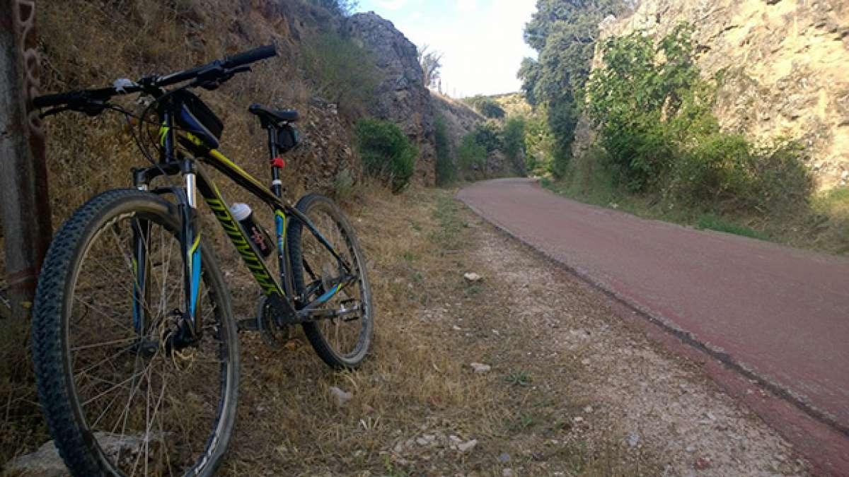 La foto del día en TodoMountainBike: 'Vía Verde del Tajuna (Madrid)'