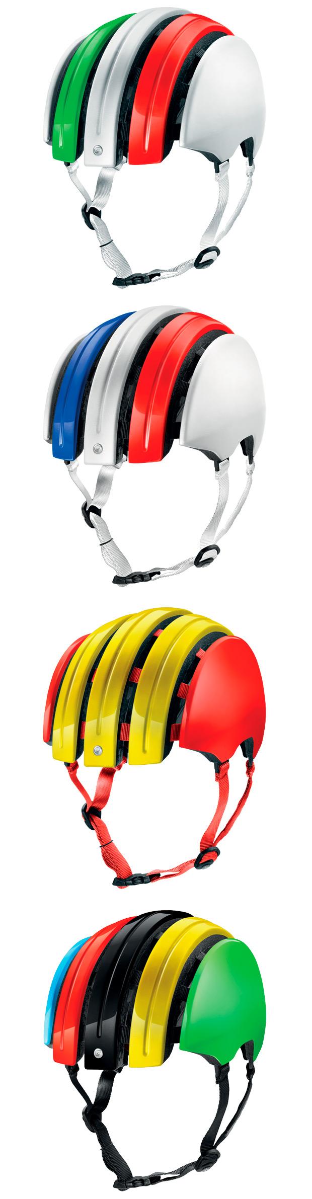 Seguridad y estilo para la nueva gama de cascos plegables de Carrera
