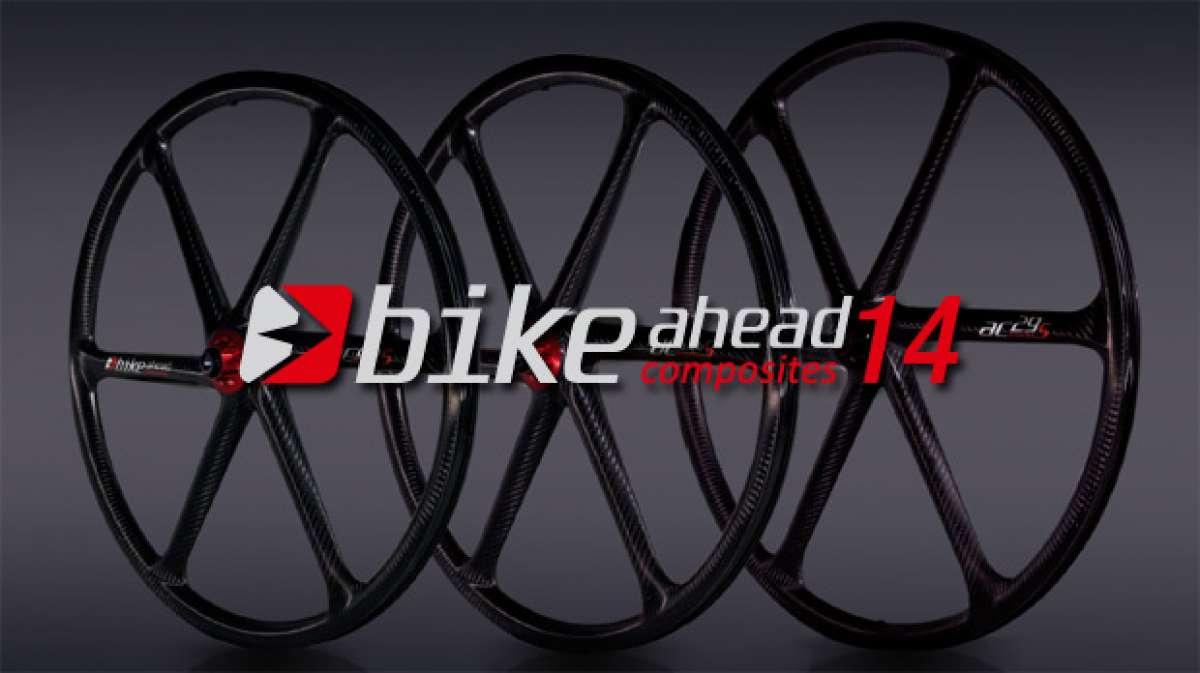 Catálogo de Bike Ahead Composites 2014. Toda la gama de ruedas de carbono Bike Ahead Composites para la temporada 2014