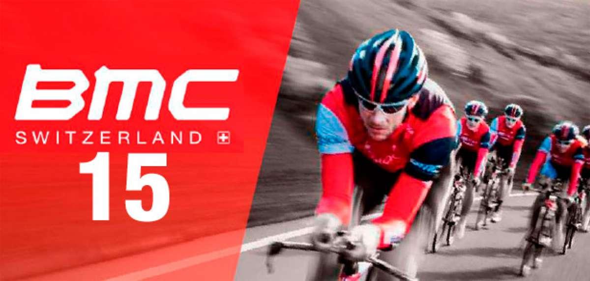 Catálogo de BMC 2015. Toda la gama de bicicletas BMC para la temporada 2015